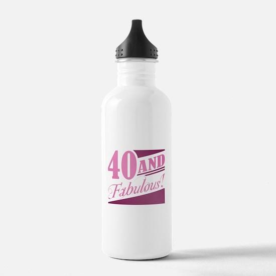 40 & Fabulous Water Bottle