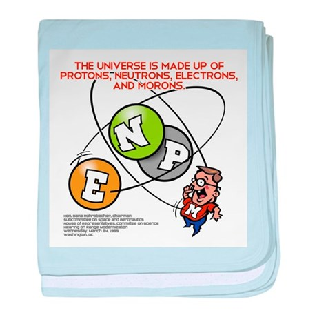 THE UNIVERSE baby blanket