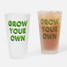 Grow Your Own Pint Glass