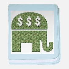 GOP $$$ baby blanket