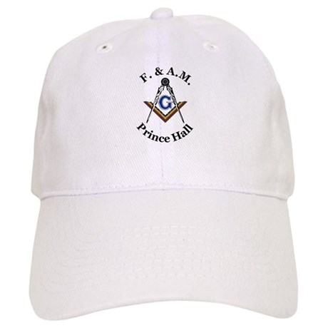 Prince Hall Square and Compass Cap