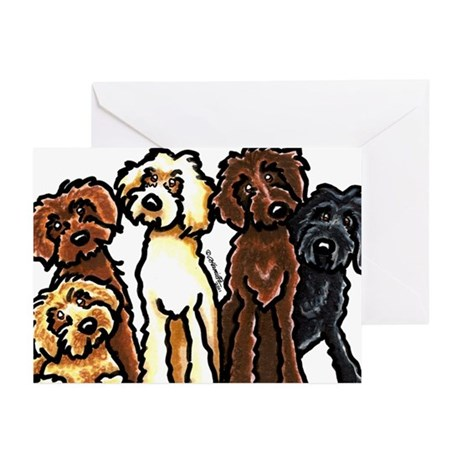 Labradoodle Lover Greeting Cards (Pk of 10)