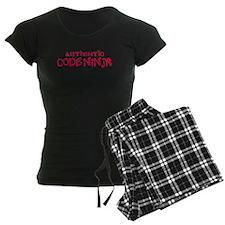 Authentic Code Ninja Pajamas