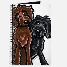 Chocolate n Black Doodle Journal