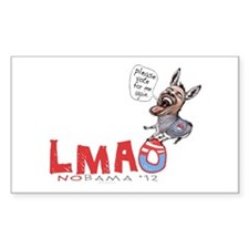 LMAO NObama '12 Decal
