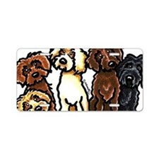 Labradoodle Lover Aluminum License Plate