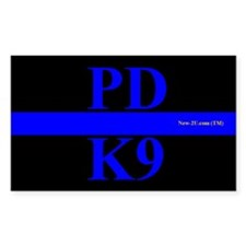 Police K9 Dog Blue Rs Decal