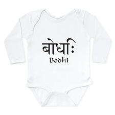 Enlightenment Long Sleeve Infant Bodysuit