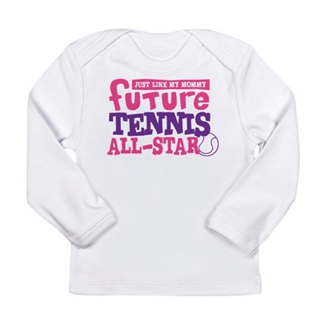 Future Tennis All Star Girl Long Sleeve Infant T-S