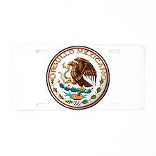 Unique Orgullo Aluminum License Plate