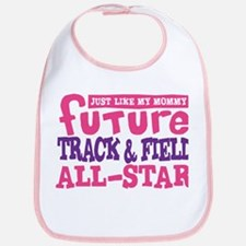 Future Track All Star Girl Bib