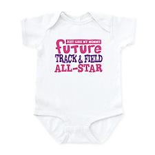 Future Track All Star Girl Infant Bodysuit