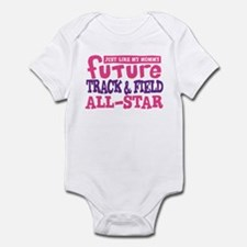 Future Track All Star Girl Infant Bodysuit