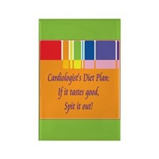 Cardiologist's Diet Rectangle Magnet (100 pack)