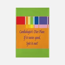 Cardiologist's Diet Rectangle Magnet