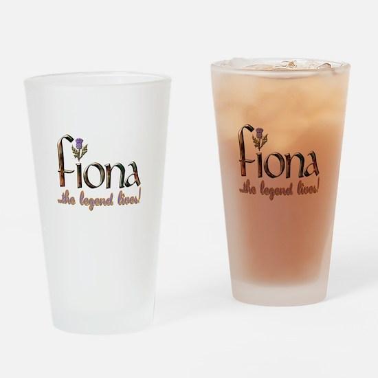 Fiona the Legend Pint Glass