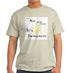 Twingenuity Ash Grey T-Shirt