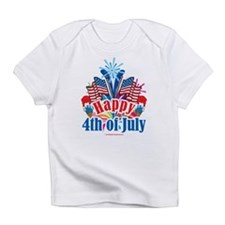 Happy 4th of July Infant T-Shirt