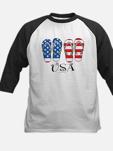 USA Flip Flops Tee