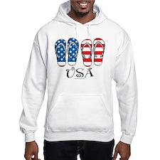 USA Flip Flops Hoodie