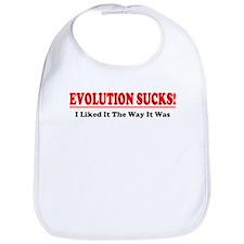 Evolution Sucks! Bib