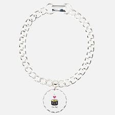 I Love Kim Bap (Korean Sushi) Bracelet