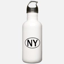 NEW YORK OVAL STICKERS & MORE Water Bottle