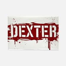 Dexter [grunge stencil] Rectangle Magnet