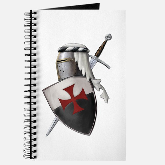 Templar shield with white top Journal