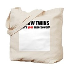 I grow twins Tote Bag