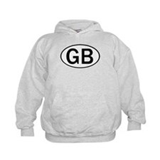 GREAT BRITAIN OVAL STICKERS & Hoodie