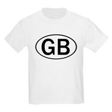 GREAT BRITAIN OVAL STICKERS & T-Shirt