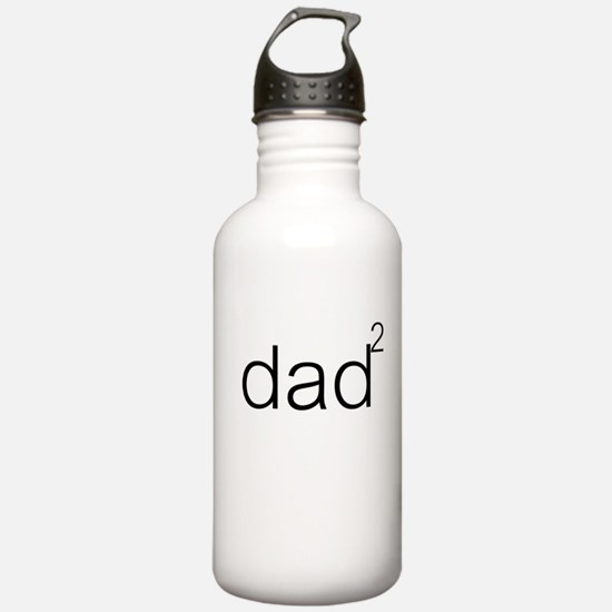 Dad times 2 Water Bottle