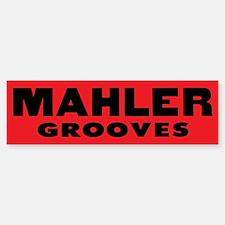 Mahler Grooves Bumper Bumper Sticker