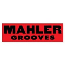 Mahler Grooves Car Sticker