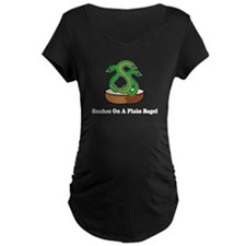 Snakes On A Plain Bagel T-Shirt