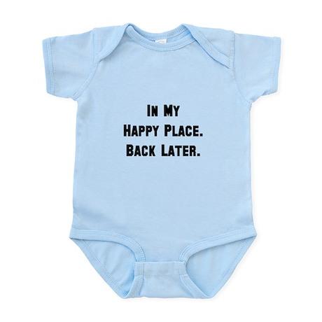 Happy Place Black Body Suit