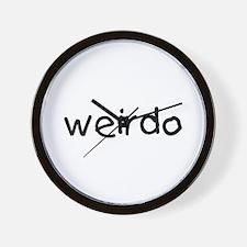 Weirdo Wall Clock