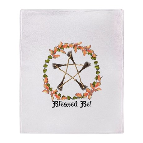 Blessed Be! Throw Blanket