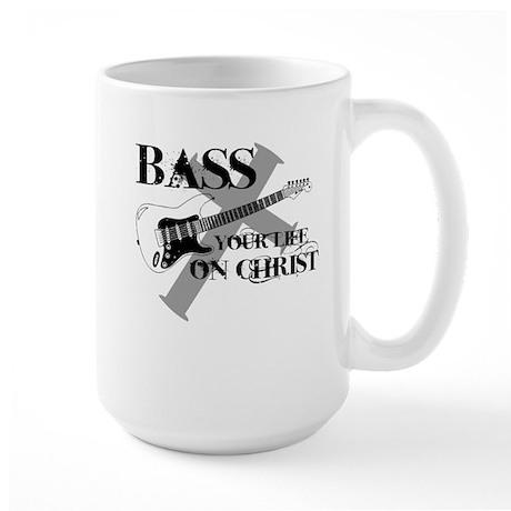 Bass your life on Christ Large Mug