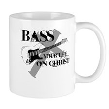Bass your life on Christ Mug