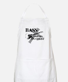 Bass your life on Christ Apron