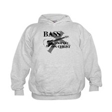 Bass your life on Christ Hoodie