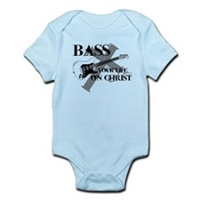 Bass your life on Christ Infant Bodysuit