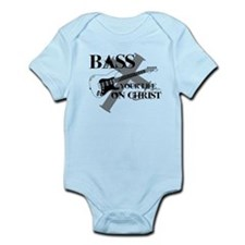 Bass your life on Christ Onesie