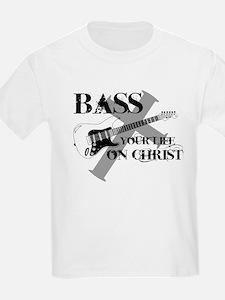 Bass your life on Christ T-Shirt