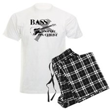 Bass your life on Christ Pajamas