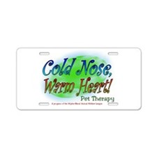 Cute Therapy heart Aluminum License Plate