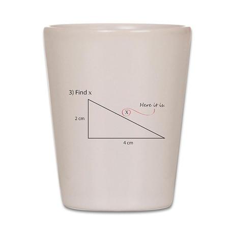 Find X Shot Glass