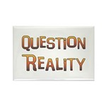 Question Reality Rectangle Magnet (100 pack)